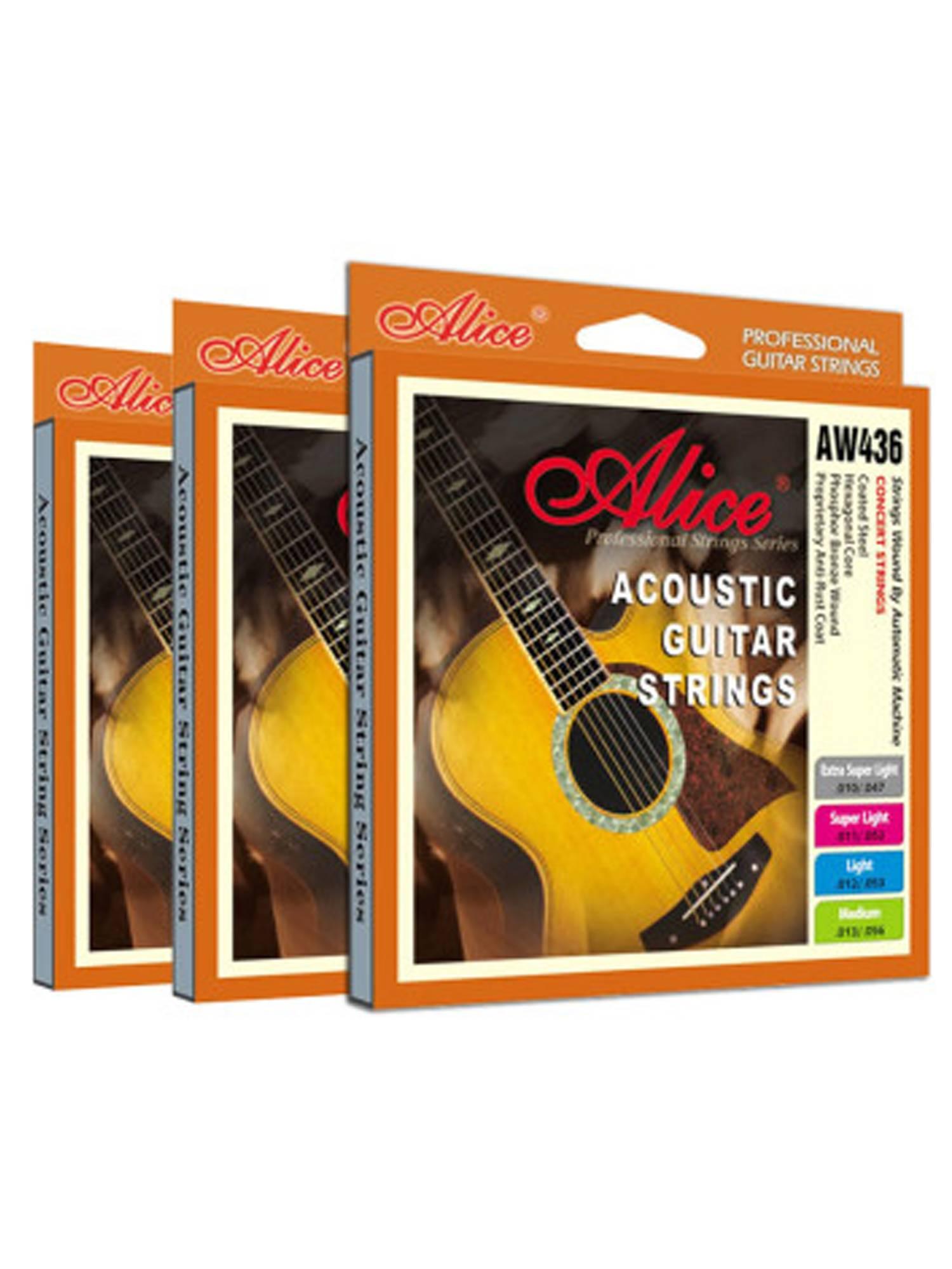 Dây đàn guitar acoustic AW436