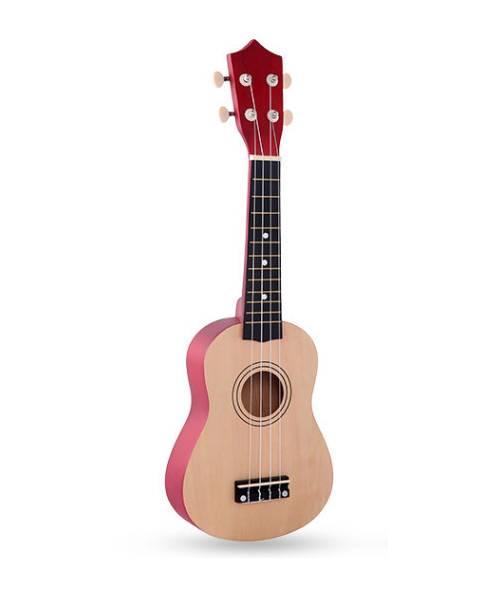 Đàn ukulele 21 inch soprano màu gỗ