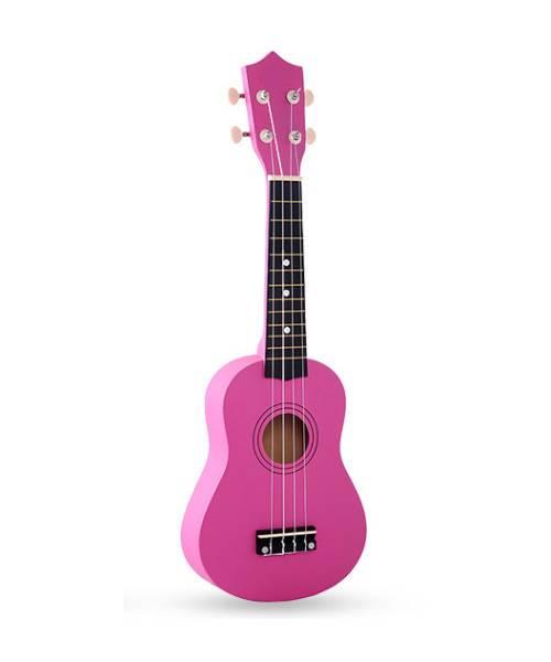 Đàn ukulele 21 inch soprano màu hồng