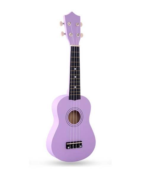 Đàn ukulele 21 inch soprano màu tím