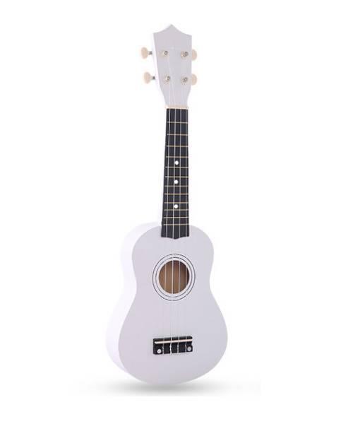 Đàn ukulele 21 inch soprano màu trắng