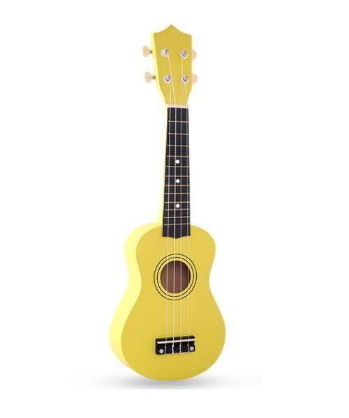 Đàn ukulele 21 inch soprano màu vàng