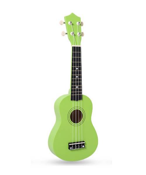 Đàn ukulele 21 inch soprano màu xanh lá