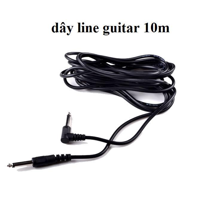 Dây line guitar 10 mét kết nối ampli guitar